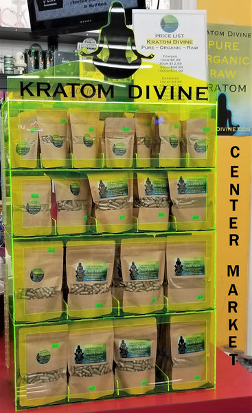 CENTER MARKET IS ROCKING KRATOM DIVINE PRODUCTS!