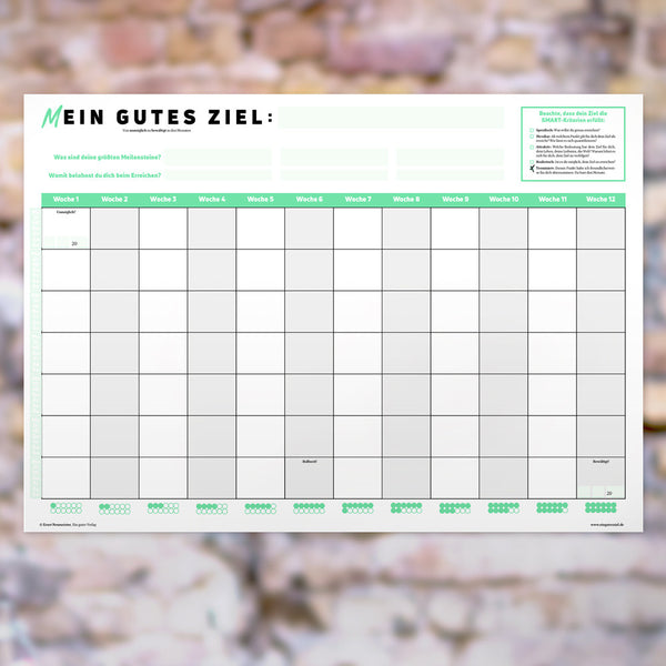 3-Monate-Wandkalender zum Gratis Download
