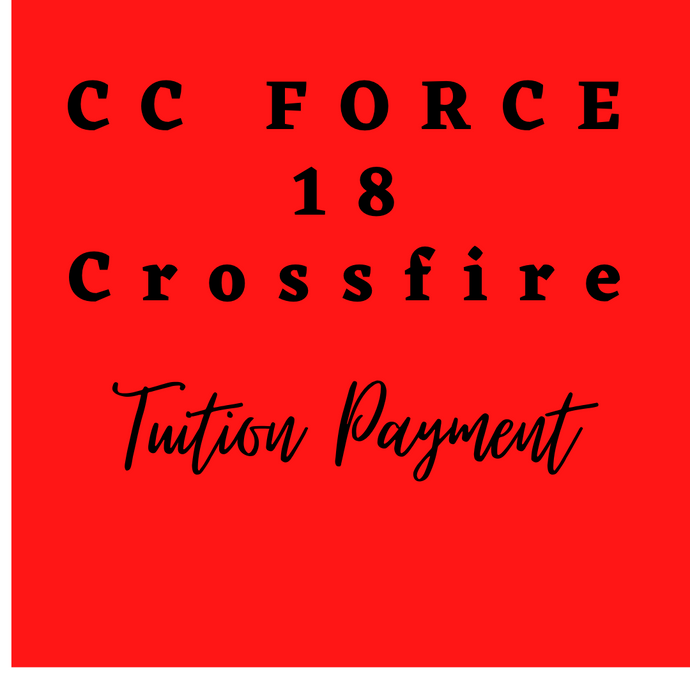 18 Crossfire Tuition Payment
