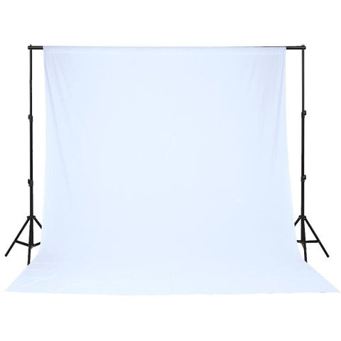 White Muslin Backdrop Screen