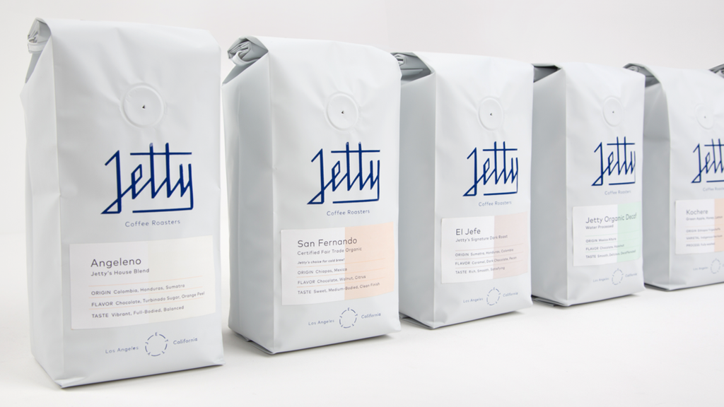 Jetty Coffee Roasters and Ludlow Kingsley!