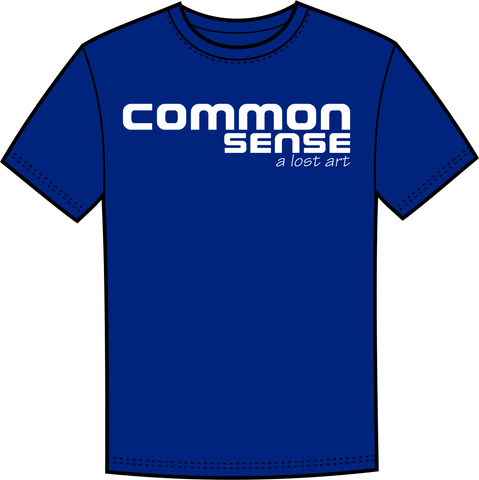 Common Sense -- a lost art - Lewey's