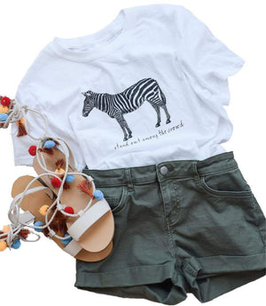 Zebra --- stand out among the crowd - Lewey's
