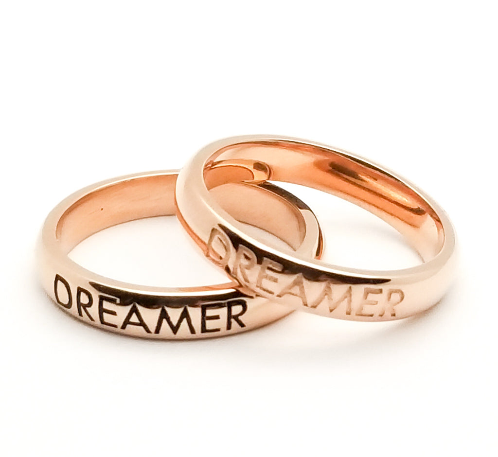 Dreamer Ring - Rose Gold