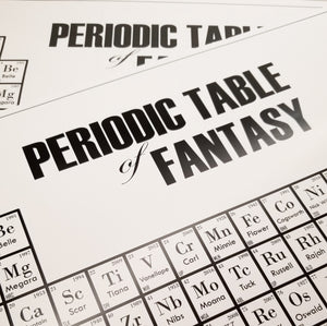 Periodic Table of Fantasy