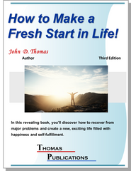 How to Make a Fresh Start in Life!