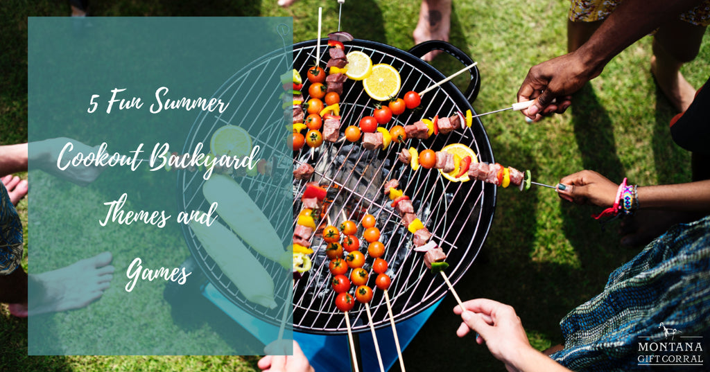 5 Fun Summer Cookout Backyard Themes and Games