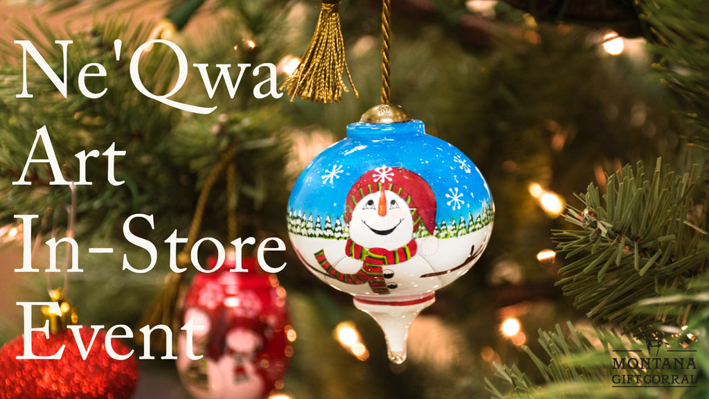 Ne'Qwa Art In-Store Event