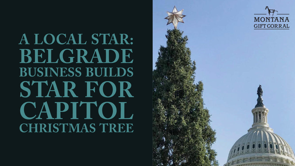 A Local Star: Belgrade Business Builds Star for Capitol Christmas Tree