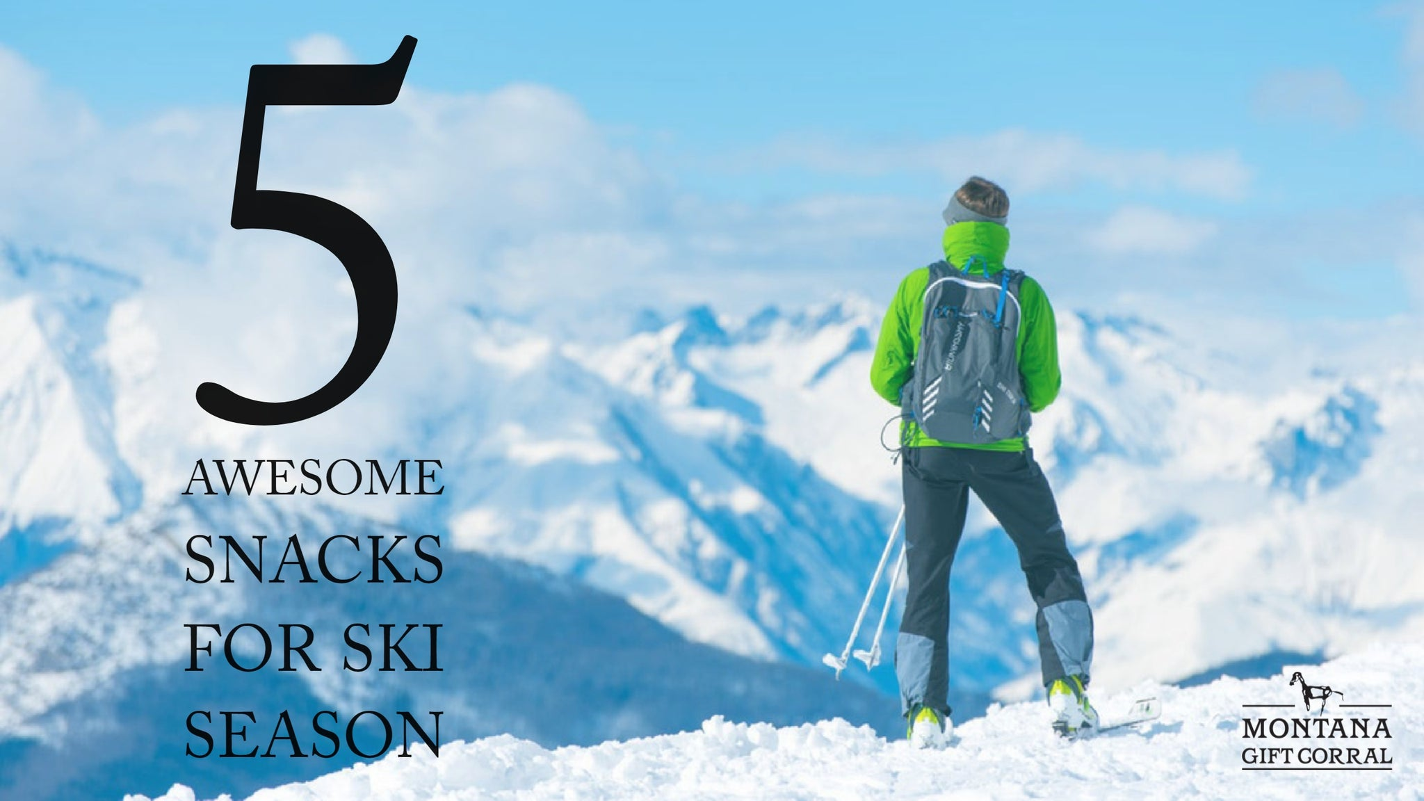 5 Awesome Snacks for Ski Season
