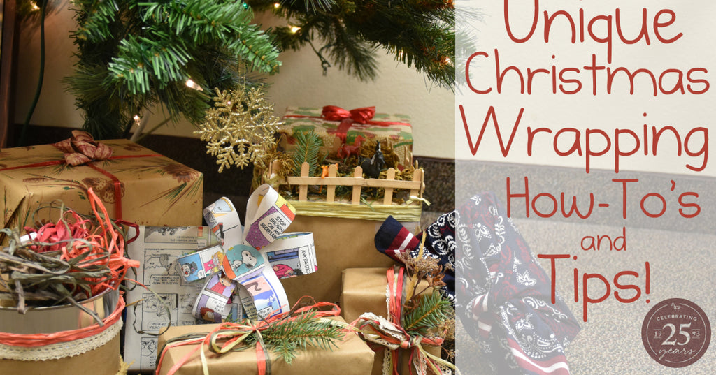 Unique Christmas Wrapping How-To's and Tips!