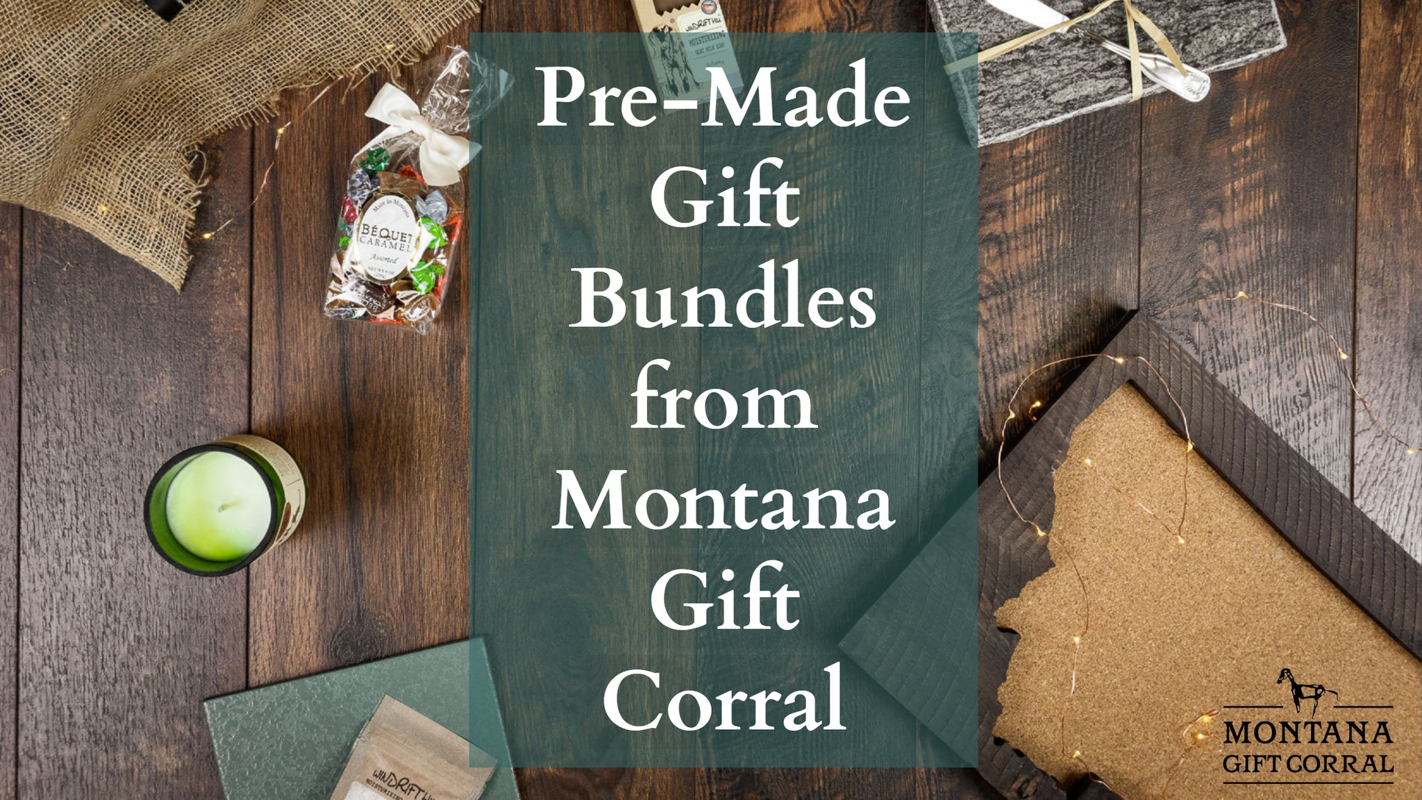 Pre-Made Gift Baskets from Montana Gift Corral