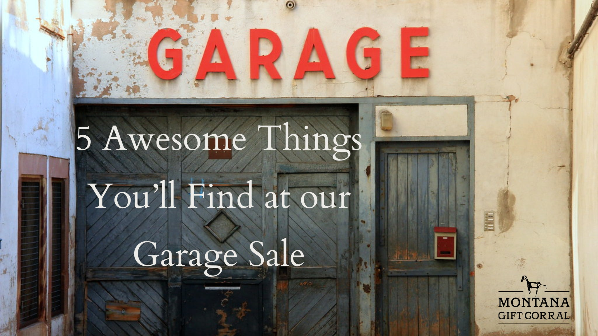 Five Awesome Things You'll Find at our Garage Sale