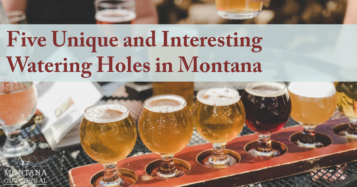 Five Unique and Interesting Watering Holes in Montana