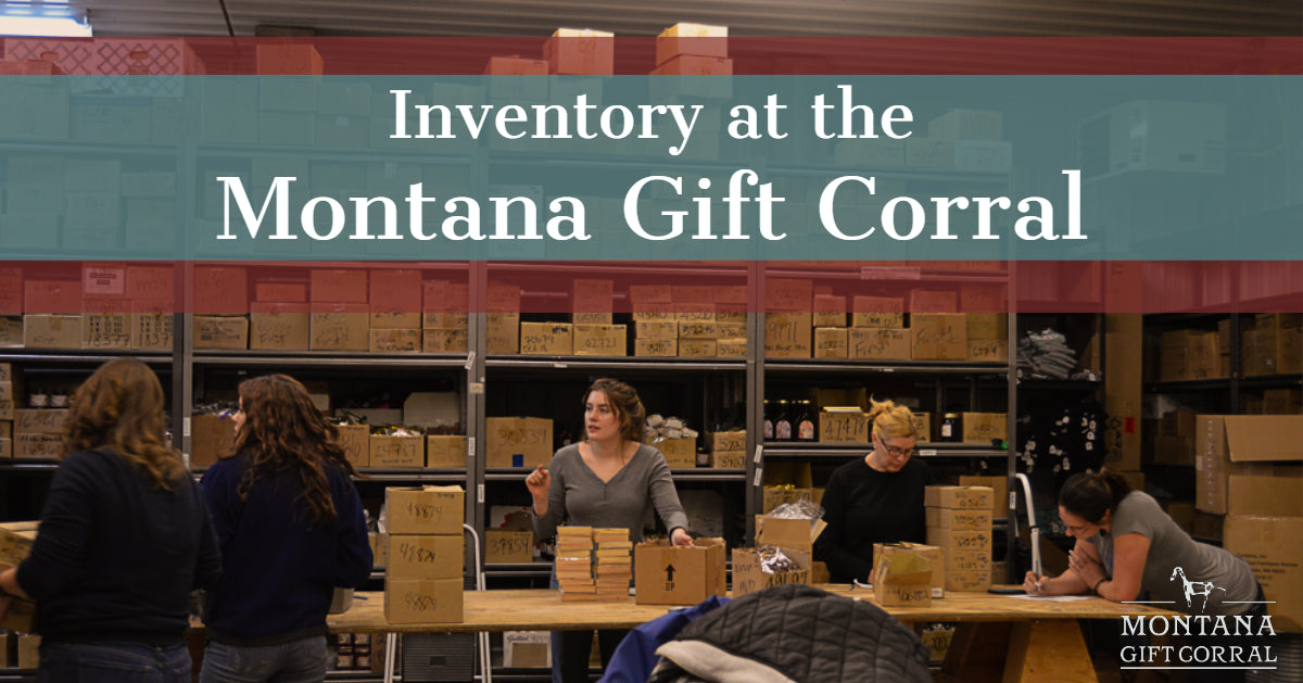 Inventory at the Montana Gift Corral