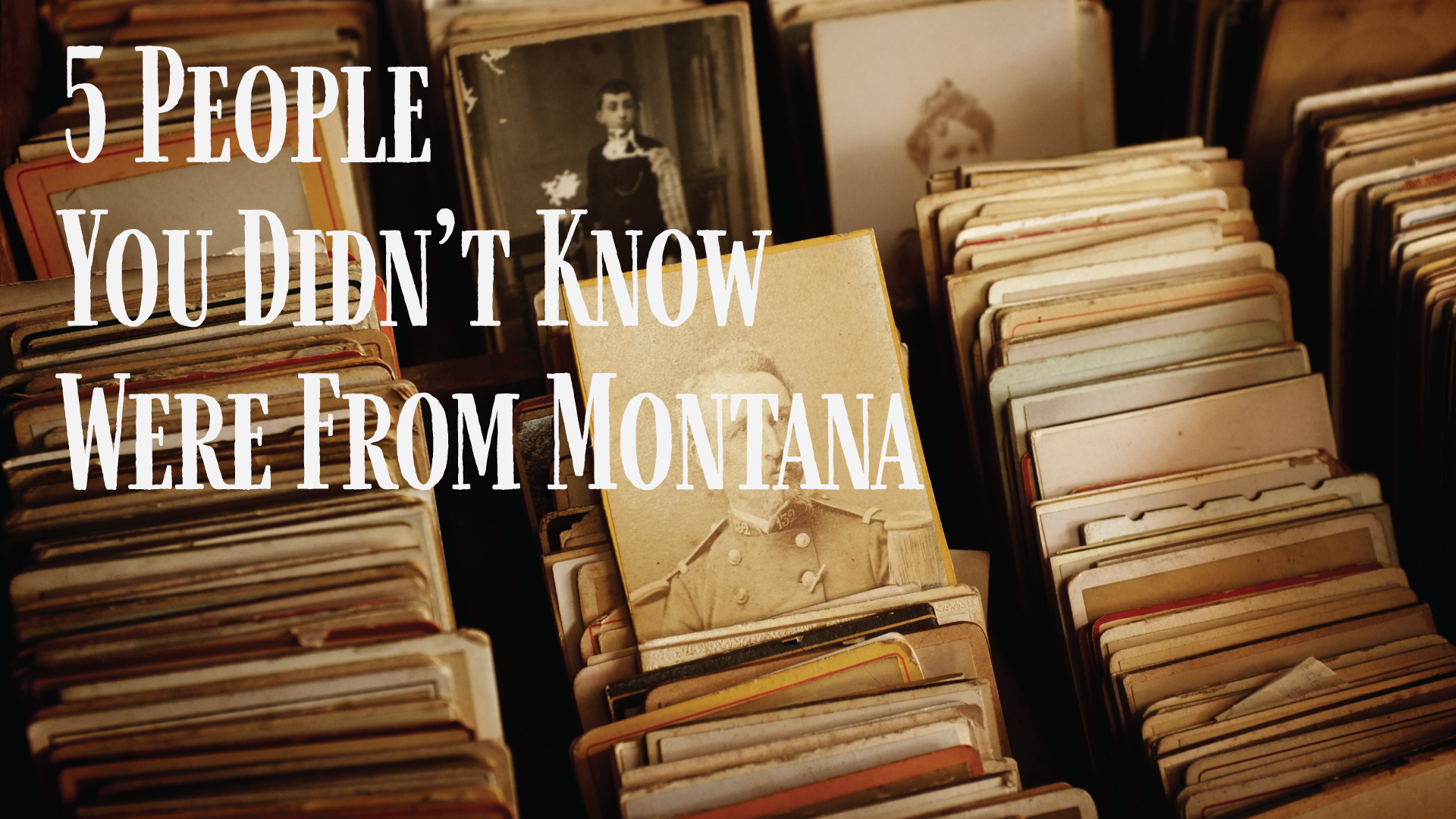5 People You Didn't Know Were From Montana