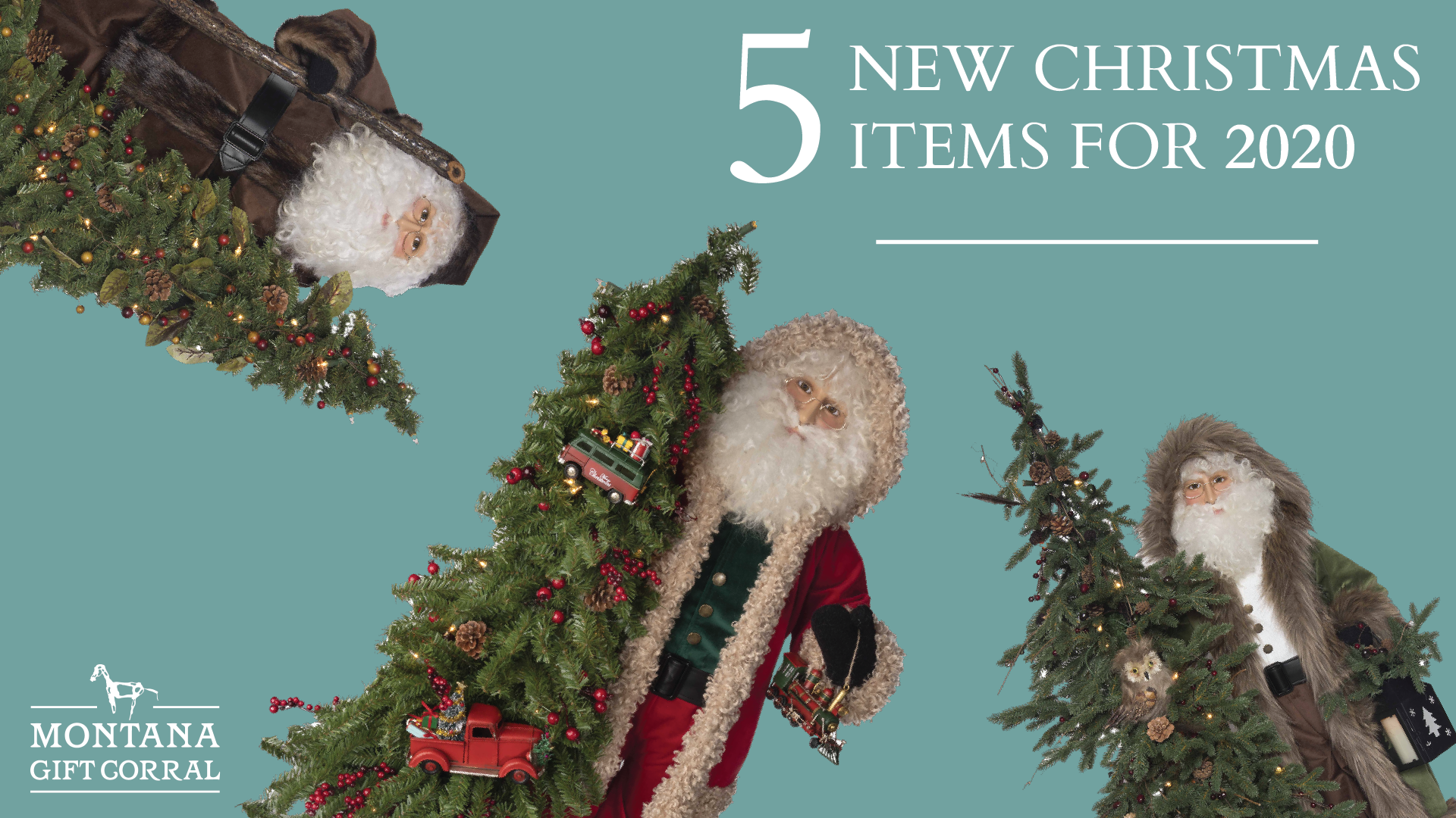 5 New Christmas Items for 2020