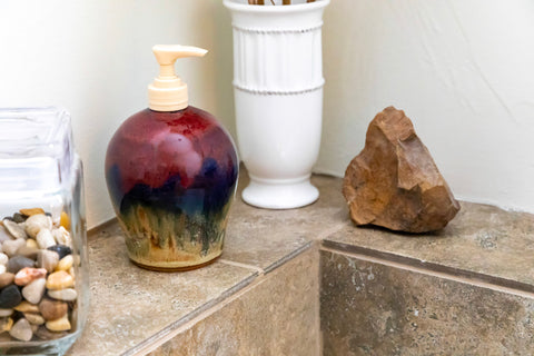 Soap Dispenser by Fire Hole Pottery - Montana Gift Corral