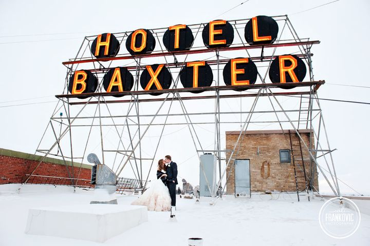 Wedding at the Baxter Hotel