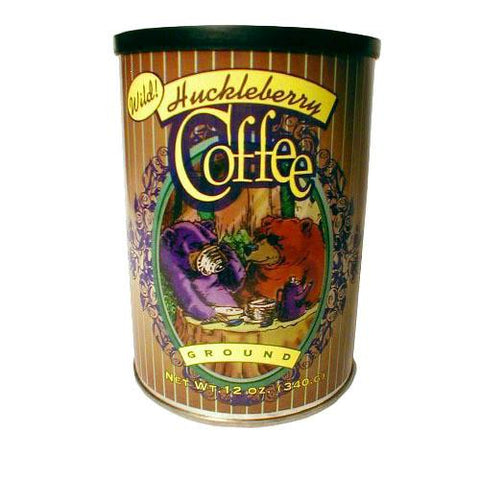 Huckleberry coffee from Montana Gift Corral