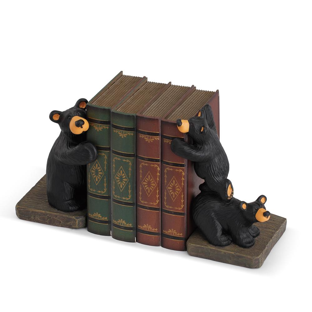 Trilogy Bearfoots Bookends by Jeff Fleming