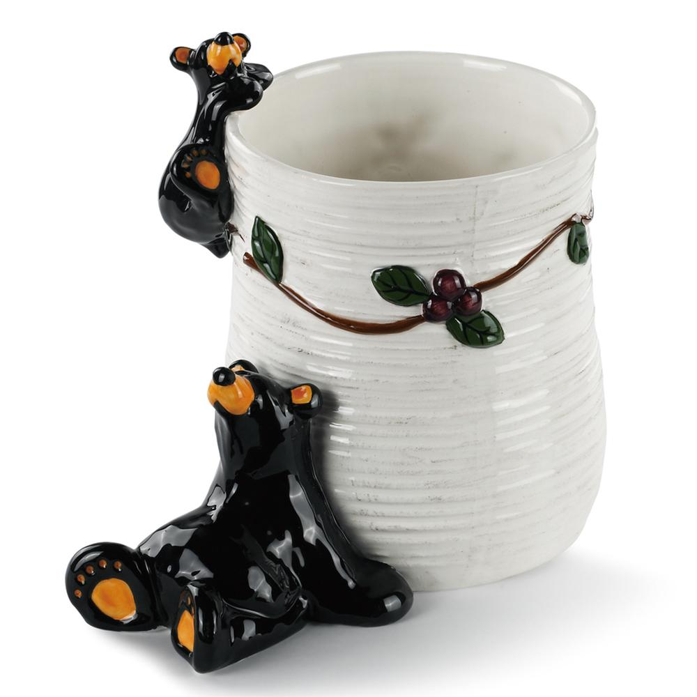 Berry Bearfoots Utensil Holder by Jeff Fleming