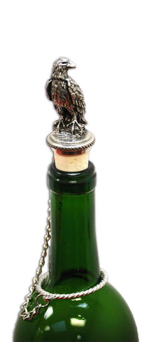 Eagle Wine Stopper by Heritage Metalworks - Montana Gift Corral