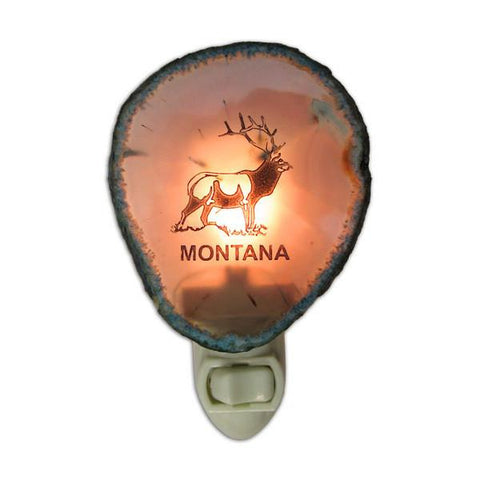 Elk Agate Nightlight