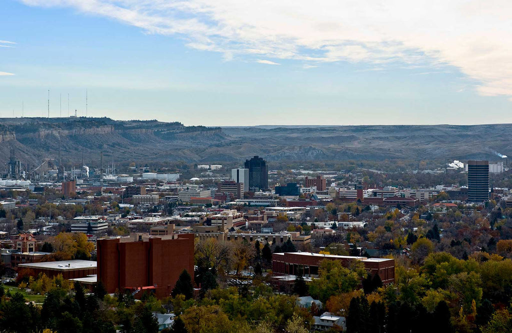 Billings, Montana in Yellowstone County