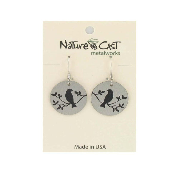 Earrings by Nature Cast Metalworks