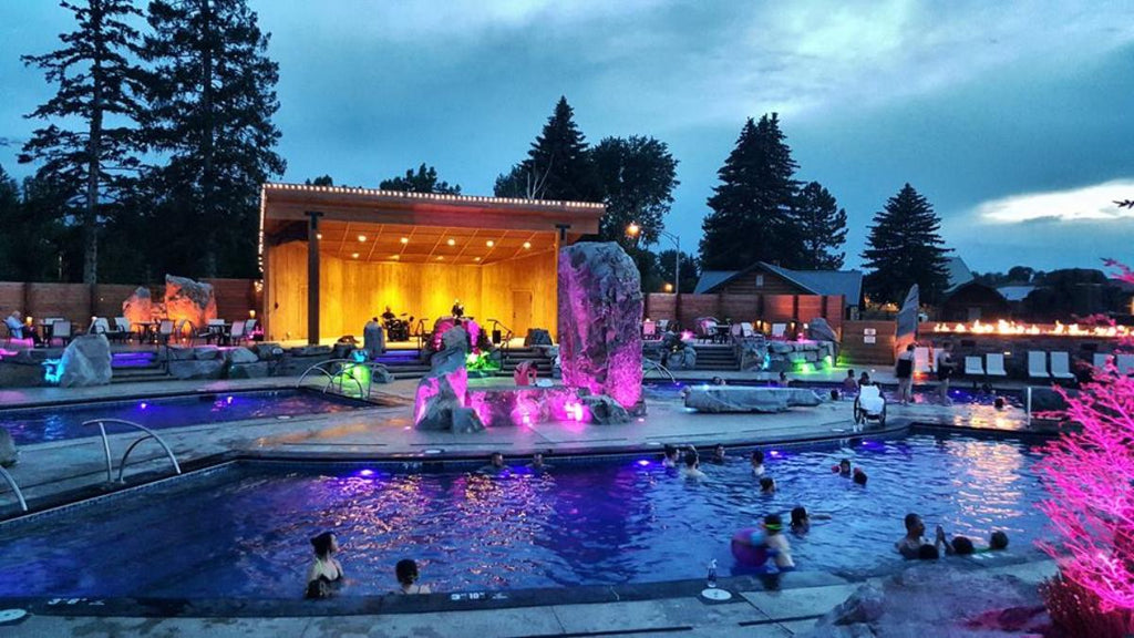 Bozeman Hot Springs Photo Courtesy of Sunrise Reservations on 5 Best Bozeman-y Things to Do on a Budget
