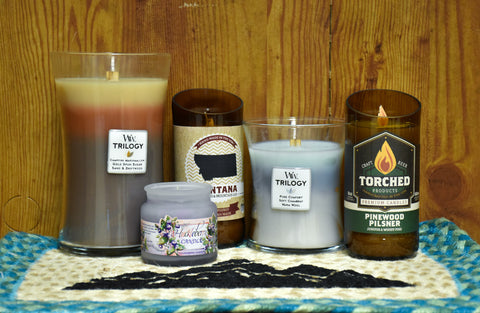 candles are a great corporate gift this holiday season. with the Montana Gift Corral