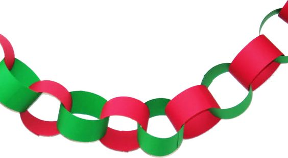 Create  Classic Christmas Paper Chain Garland, How to Create a Gorgeous Christmas Setting this Holiday Season with the Montana Gift Corral
