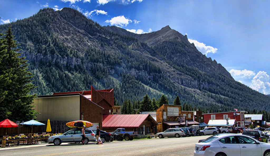 Cooke City courtesy of Yellowstone National Park on Montana Travel Destinations: Yellowstone Entrance Towns