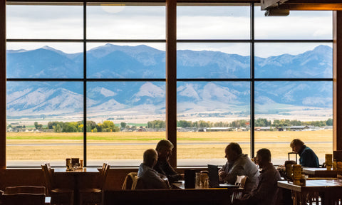 Copper Horse Restaurant at the Bozeman-Belgrade Yellowstone International Airport