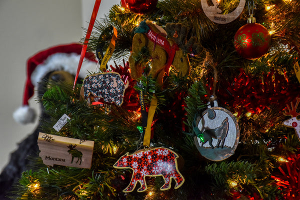 Woodland Wonderland and Wildlife Ornaments at the Montana Gift Corral