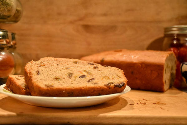 Barm Brack Loaf for Fun Fall Recipes and Halloween