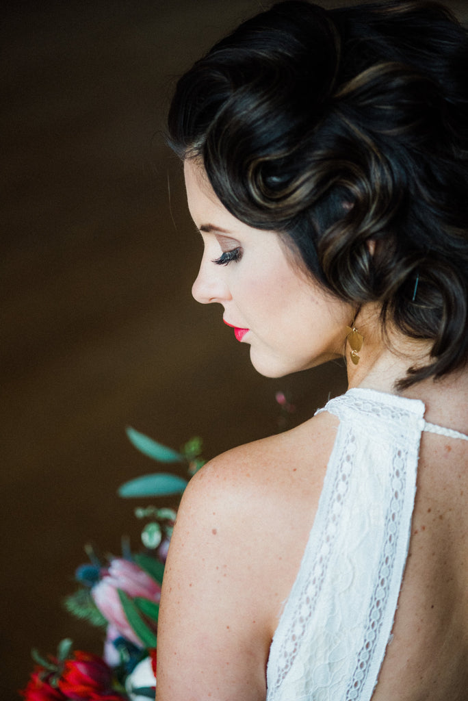 Stunning wedding work by Ethereal Hair and Makeup