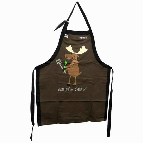Grillin' and Chillin' Apron by Lazy One