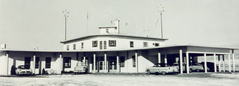 Bozeman Airport 1950, Bozeman International Airport featured at Montana Gift Corral