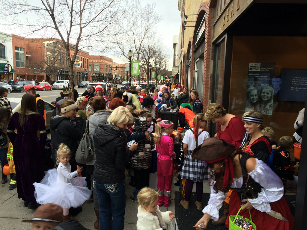 Downtown Bozeman Trick or Treat