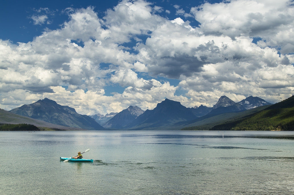 Kayaking in Montana