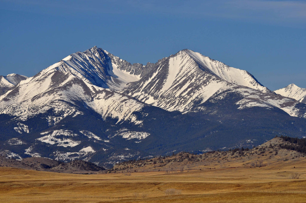Crazy Mountains in Montana