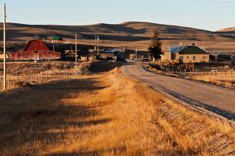 Monida Montana, the beautiful Almost-ghost-town with Fall colors