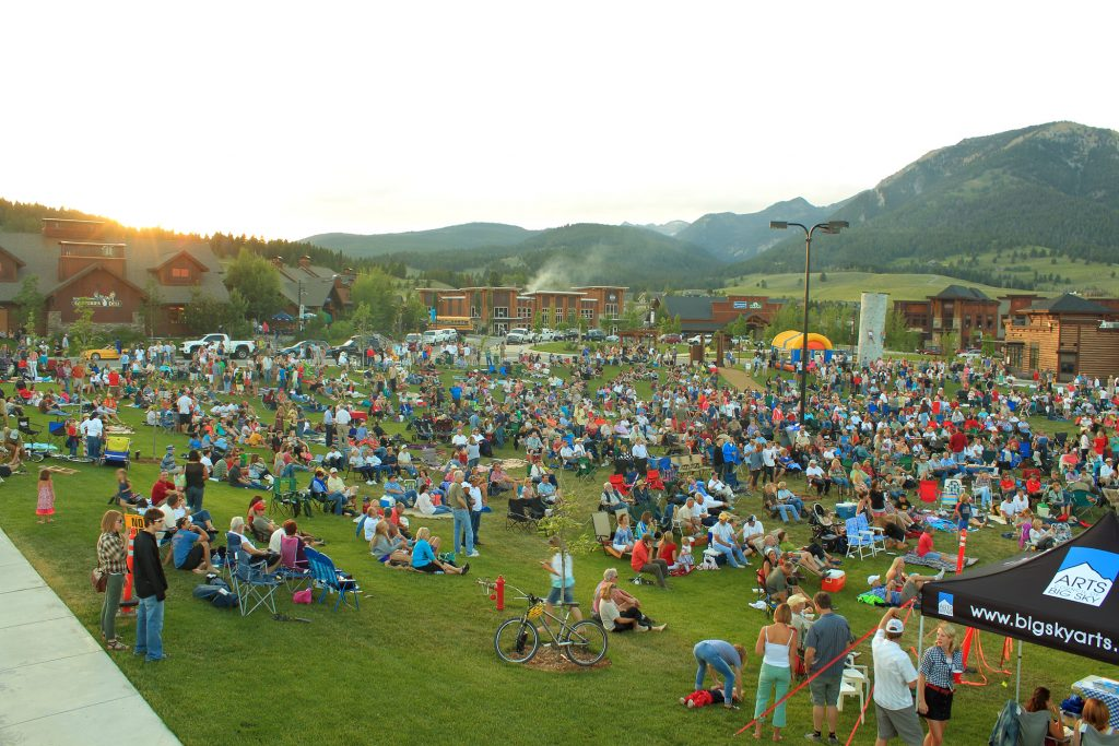 Music in the Mountains at Big Sky, Montana