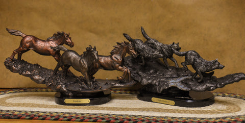Sculptures make fantastic corporate gifts this holiday season. check them out at the Montana Gift Corral