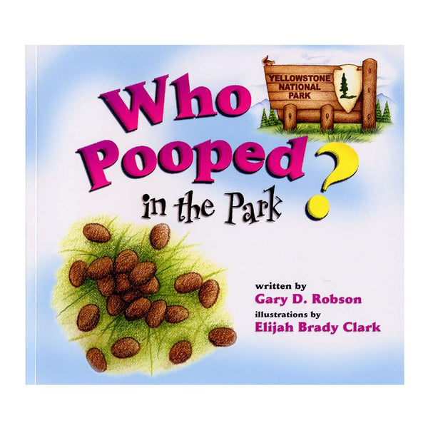 Who pooped in the park book