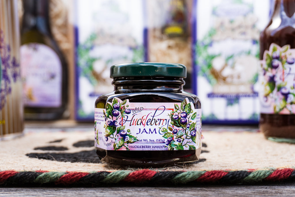 huckleberry jam from Montana Gift Corral