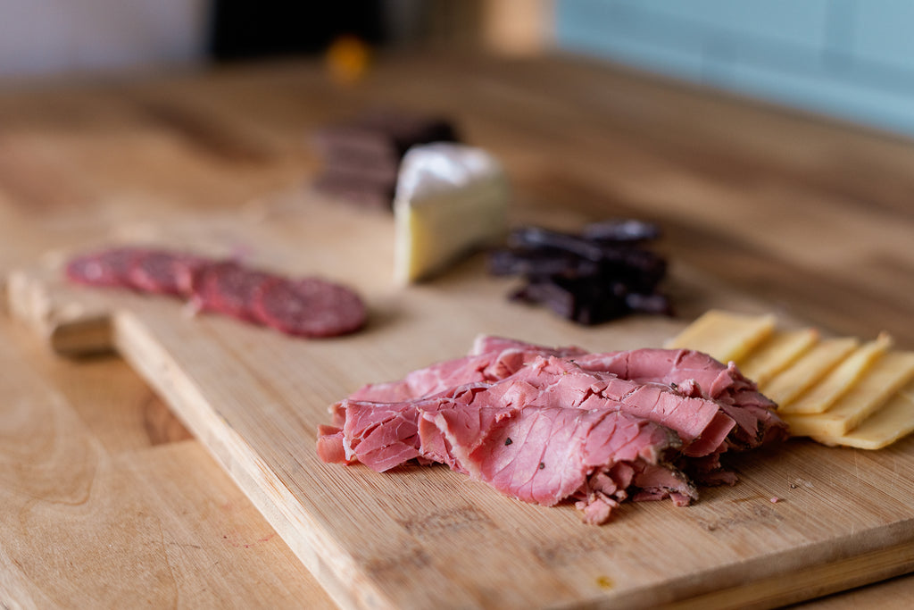 Montana Meat and Cheese Board