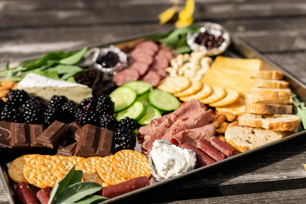 How to make a charcuterie board with Montana meats
